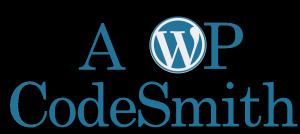 MikeGriffin.me A WordPress CodeSmith logo