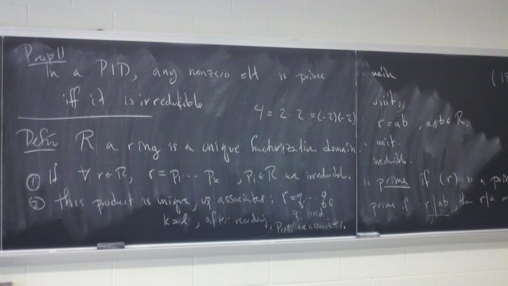 math on chalkboard